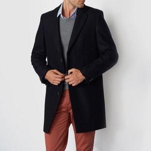 Manteau drap de laine R essentiel