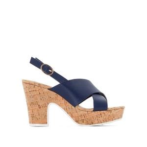 Sandali pelle tacco alto e plateau Jambo DUNE LONDON