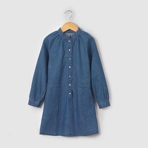 Long-Sleeved Denim Dress, 3-12 Years R essentiel