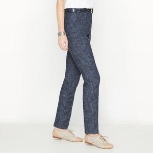 Jeans direitos, ganga stretch ANNE WEYBURN
