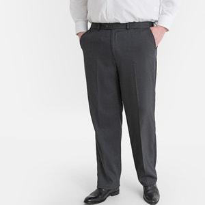 Rechte broek met verstelbare taille