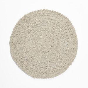 Tapete redondo em crochet de algodão BRIGITTE BARDOT X LA REDOUTE