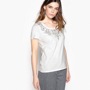 T-shirt ricamata, a maniche corte ANNE WEYBURN
