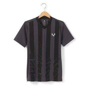 T-shirt garçon imprimé rayé 5 - 16 ans ADIDAS