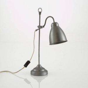 lampe à poser en métal brossé, Maxile La Redoute Interieurs
