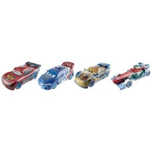 Voitures Cars : coffret 4 petites voitures Ice Racers MATTEL