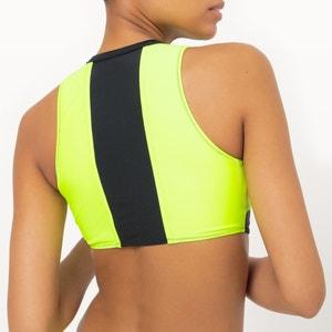Reggiseno per bikini, brassiere, cerniera, bicolore, fluorescente Sophie Malagola x La Redoute