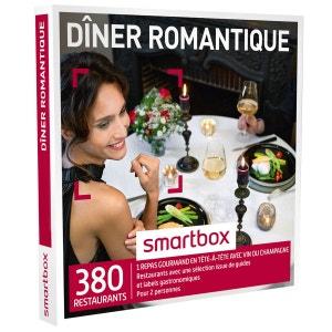 Dîner romantique - Coffret Cadeau SMARTBOX