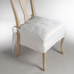 Galette de chaise métis lin/coton, Jimi La Redoute Interieurs