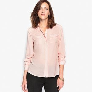 Рубашка из крепа ANNE WEYBURN