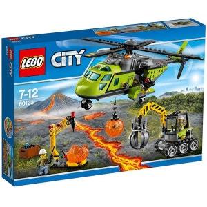 L'hélicoptère d'approvisionnement du volcan - LEG60123 LEGO