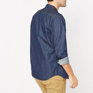 Straight Cut Denim Shirt R essentiel