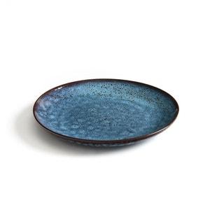 Assiette plates terre cuite, Pesgira (x4) AM.PM.