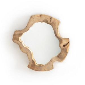 Miroir artisanal racine de teck Ø40 cm, Litanie AM.PM