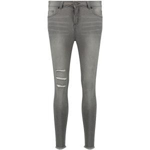 Jeans Taille Mi-Haute Déchirés BLUE INC