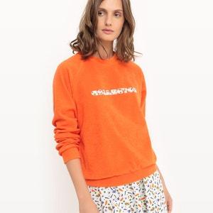 Sweatshirt, runder Ausschnitt, Hauptanteil Baumwolle COLLECTOR X LA REDOUTE MADAME