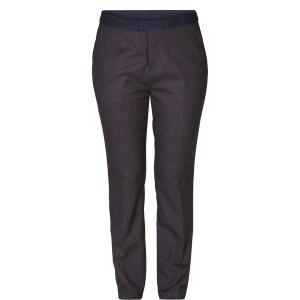 Pantalon droit avec ceinture contrastée NUMPH