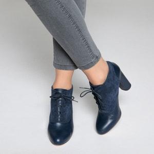 Ботинки-дерби на высоком каблуке La Redoute Collections