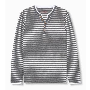 Camiseta de manga larga 2 en 1 cuello tunecino ESPRIT