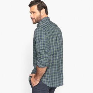 Geruit hemd met lange mouwen CASTALUNA FOR MEN