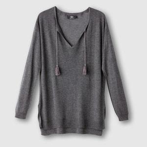Long-Sleeved Fine-Knit Jumper LE TEMPS DES CERISES