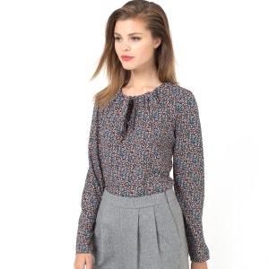 Блузка с рисунком и длинными рукавами MADEMOISELLE R
