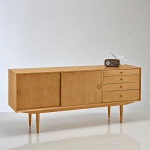 Buffet vintage, 2 portes, 4 tiroirs, Quilda La Redoute Interieurs