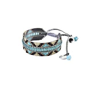 Bracelet brésilien 'Metzy' turquoise - Collection Mishky Eté 2018 MISHKY
