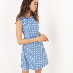 Gepunktetes, ärmelloses Kleid COMPANIA FANTASTICA