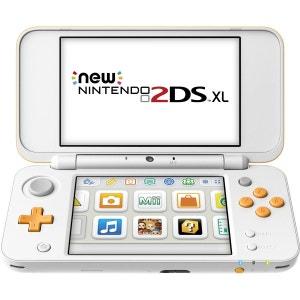 Console New Nintendo 2DS XL Blanc + Orange 2DS NINTENDO