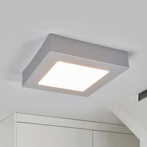 Plafonnier LED pour salle de bain Marlo, argenté LAMPENWELT