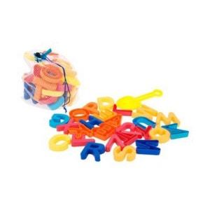 BABY-WALZ Les moules à sable ABC avec pelle jouet de sable BABY-WALZ