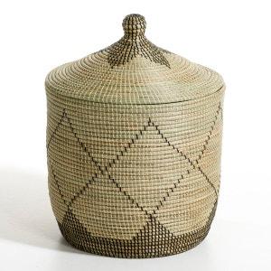 Panier paille de riz H48 ou H60 cm, Louna AM.PM.