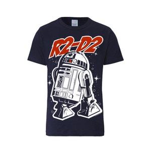T-Shirt R2-D2 - Guerre des étoiles - Star Wars R2D2 -  bleu foncé LOGOSHIRT