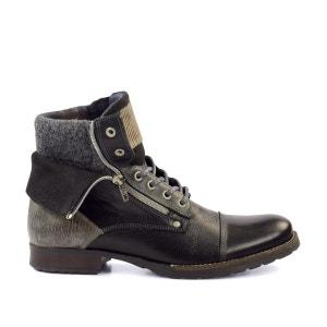 Work Boots noires SACHA