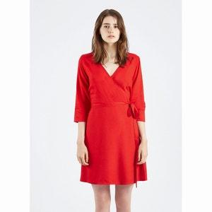 Robe portefeuille Vestido Rojo Maqi COMPANIA FANTASTICA