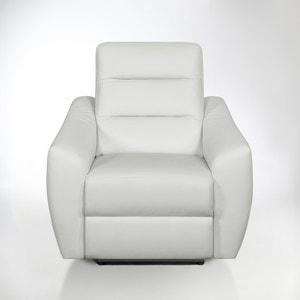 Elektrische relax zetel in leer, Gedes La Redoute Interieurs