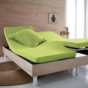 Lençol-capa puro algodão Bio para cama articulada SCENARIO