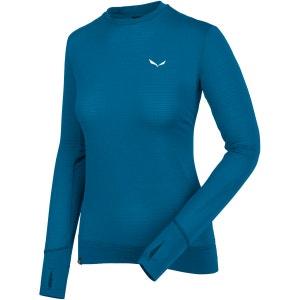 Pedroc PTC - T-shirt manches longues Femme - bleu SALEWA
