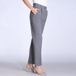 Pantaloni con pinces bi-estensibili, cavallo 70 cm ANNE WEYBURN