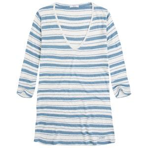 Linen V-Neck T-Shirt PEPE JEANS