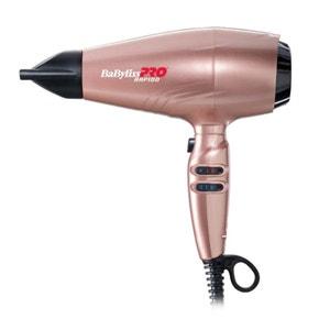 Sèche-cheveux Rapido ultra-léger rose gold, Ref BAB7000IRGE, Babyliss Pro BABYLISS PRO