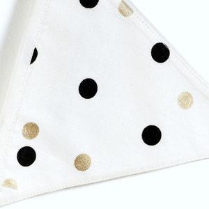 Guirlande fanions en coton imprimé pois, Gayoma La Redoute Interieurs