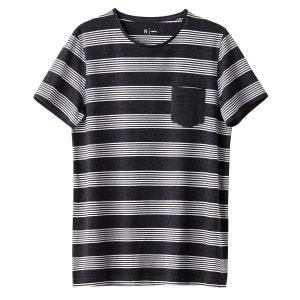 T-shirt col rond rayé R Edition