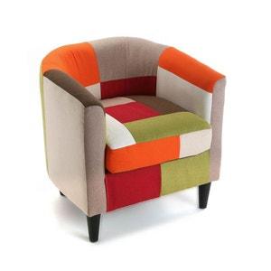 fauteuil colore la redoute. Black Bedroom Furniture Sets. Home Design Ideas