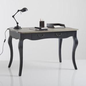 Lipstick Oak Veneer Desk La Redoute Interieurs