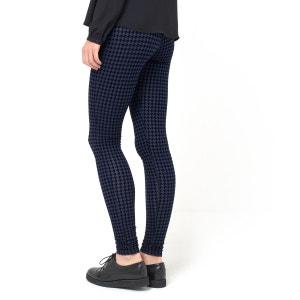 Pantaloni leggings in maglia fantasia pied-de-poule LES PETITS PRIX