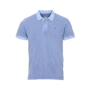 Polo   Garment Dye Sunset Blue en maille piquée  e coton DOCKERS