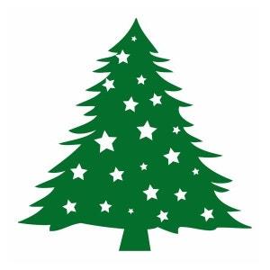Déco Repositionnable : Sapin de Noël DECOLOOPIO