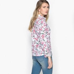 Blouse met hemdskraag, bloemenprint ANNE WEYBURN